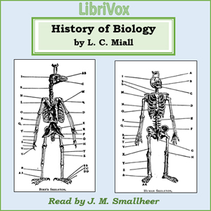 History of Biology(10072) by Louis Compton Miall audiobook cover art image on Bookamo