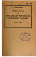 Cover of: Field Artillery: Individual And Unit Training Standards