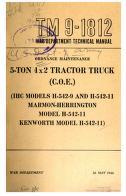 Cover of: 5-ton, 4x2 Tractor-Truck (C.O.E.) (IHC Models H-542-9 and H-542-11, Marmon-Herrington Model