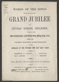 Words of the Songs to be Sung at the Grand Jubilee (1875)